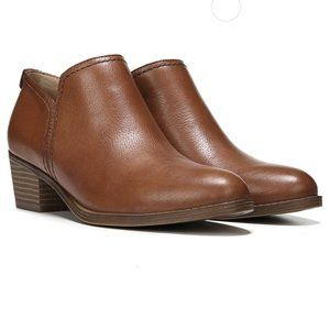Naturalizer Saddle Tan Brown Leather Ankle Boot 10
